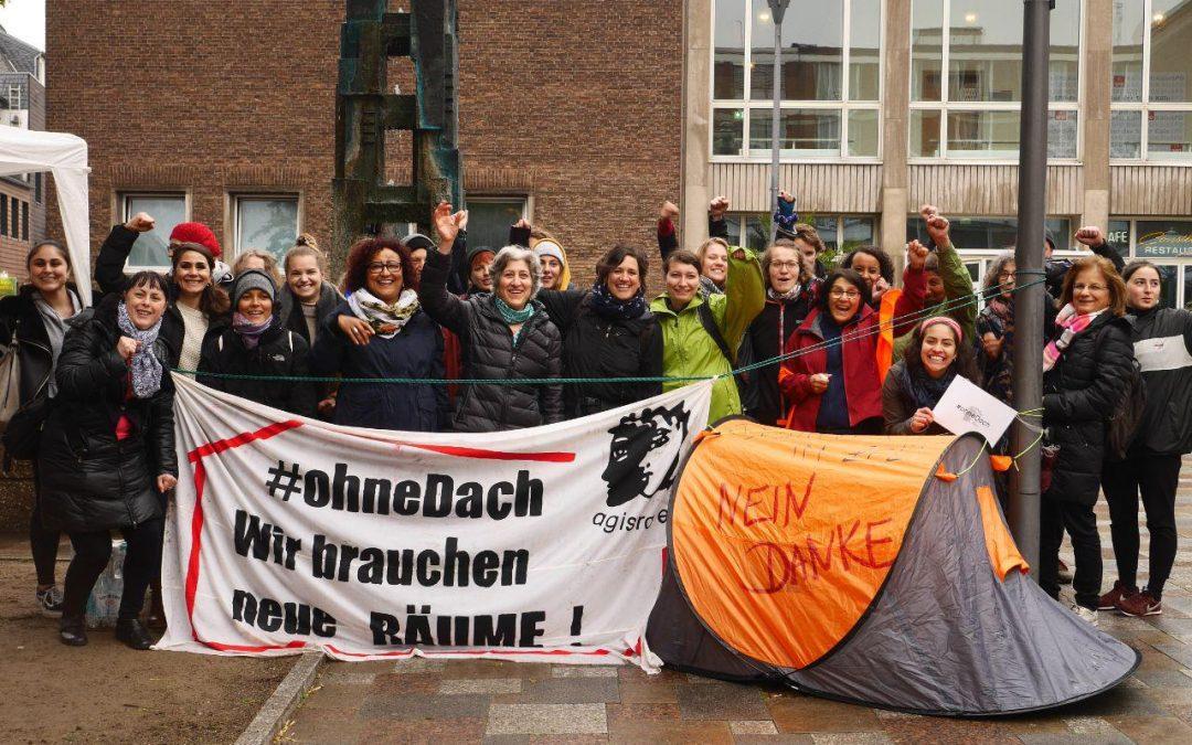 #ohneDach: Protestaktion vom 21.05.19
