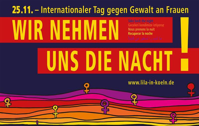 Demonstration: Internationaler Tag gegen Gewalt an Frauen* und Mädchen* (25.11.19)