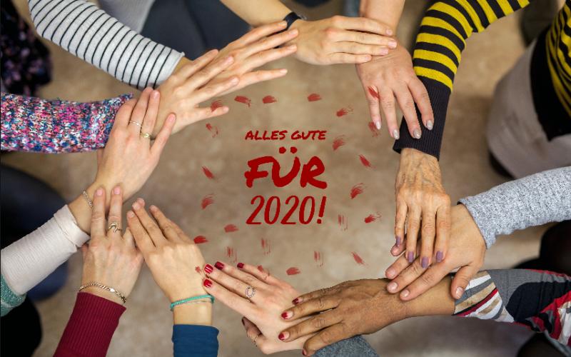 agisra wünscht alles Gute für 2020!