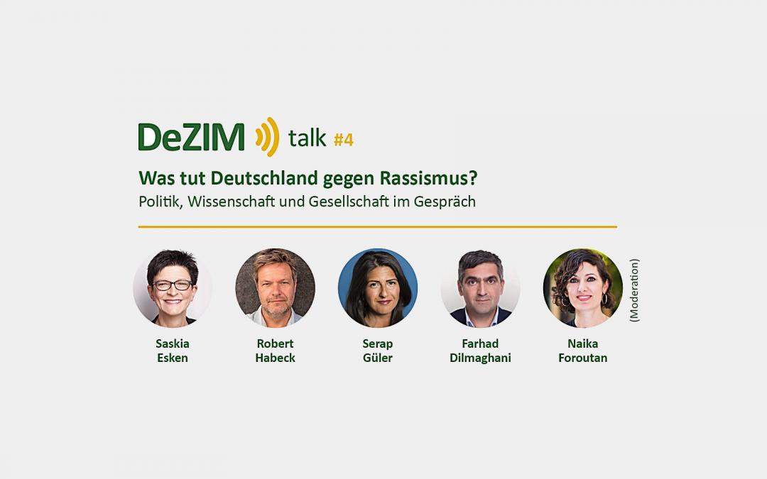 Was tut Deutschland gegen Rassismus? Politik, Wissenschaft und Gesellschaft im Gespräch