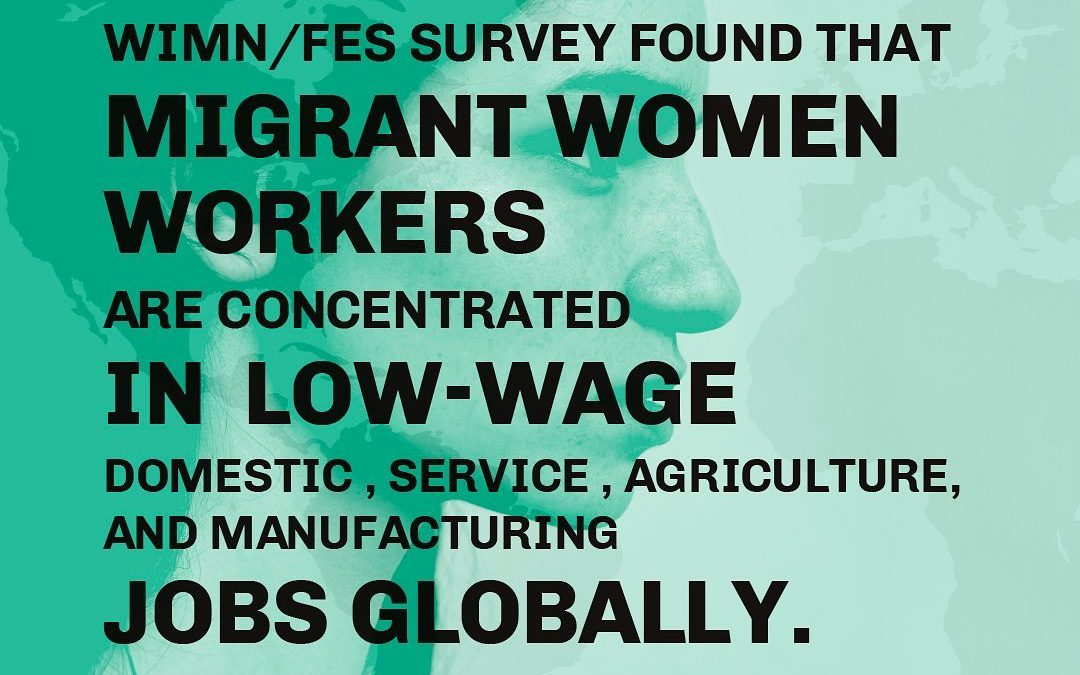 """no borders to equality"" – agisra e. V. nimmt teil an globaler Studie von 'Women in Migration Network'"